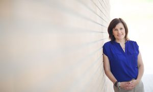 Psychologist Lesley Lutes is passionate about mental health